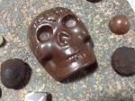 calavera chocolate metate